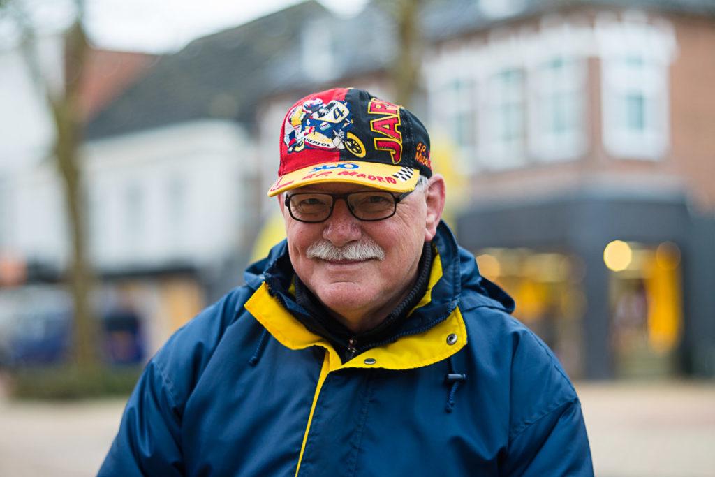 Jan Helmus in het portret van Drachten door fotograaf Jeffrey Wakanno