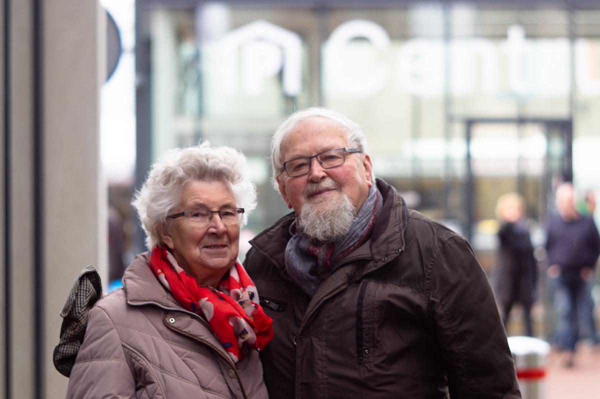 Rein en Tineke in het portret van Drachten door fotograaf Jeffrey Wakanno